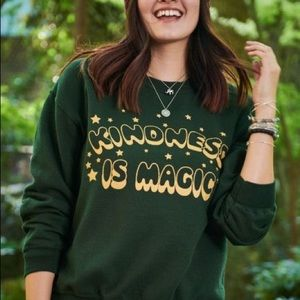 ISO earthbound green sweatshirt